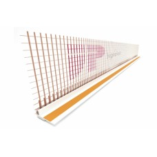 CONNECTION WINDOW PROFILES (TRIMMING WINDOW PROFILES) WITH FIBRE GLASS MESH