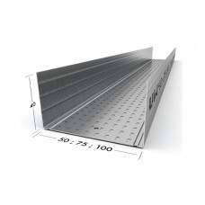 UW 50 - 75 - 100 PROFILE FOR DIVIDING WALL