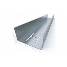 CW 50 - 75 - 100 PROFILE FOR DIVIDING WALL